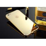 Case Bumper Espelhada Iphone 4s  5s 6s  7 7plus  8   8 Plus