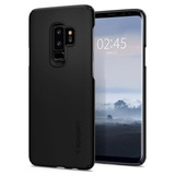 Case Galaxy S9 Plus   6 2 | Spigen Thin Fit | Capa Original