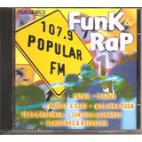 Cd Funk E Rap 107 9 Popular Fm   Marcio E Goro William Duda
