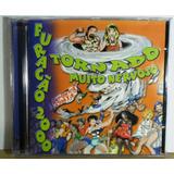 Cd Furacão 2000 Tornado Muito Nervoso Funk Vol1 Rap Hip Hop