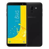 Celular Samsung J6 Galaxy Preto 32gb Tela 5 6   Tv Digital