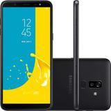 Celular Samsung J8 64gb Preto Tela 6   4g