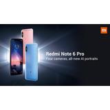 Celular Xiaomi Redmi Note6 Pro 32gb 3 Ram capa   Nota Fiscal