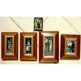 Cidades Históricas Mineiras   Grupo De Cinco Pinturas 1979