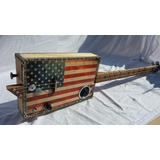 Cigar Box Guitar 3 Stri
