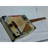 Cigar Box Guitar Sob Encomenda