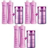 Combo 3 Plástica Dos Fios Selagem   3 Botox   3 Brinde