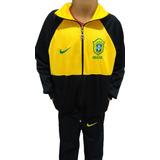 Conjunto Copa Infantil Brasil Agasalho Seleção Brasileira 1478dfa887d0f