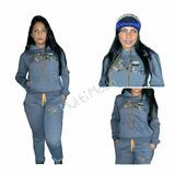 Conjunto Moletom Feminino Oakley Casaco Blusa Calça Moleton f19c696dd78