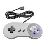 Controle Super Nintendo Snes Joystick Usb Jogos Emulador Pc