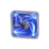 Cooler Fan Akasa Crystal C  4 Led s   Azul 12x12 Cm