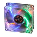 Cooler Fan Akasa Led Colorido 80mm 8cm Ak 170cc 4ras Novo