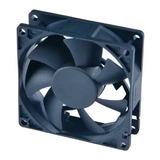 Cooler Fan Preto 80mm 8cm Akasa Ak fn069 P  Gabinete