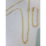 29b82bba364 Corrente pulseira De Moeda Antiga Cadeado 5mm