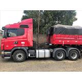 Entrada De R$ 5 800 00 Scania G 420 2103   Implemento