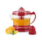 Espremedor Suco Laranja Limão Fruta Natural Vermelho 110v