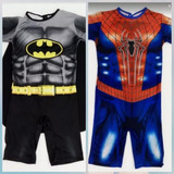 Fantasia Batman E Homem Aranha