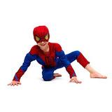 Fantasia Homem Aranha Infantil Spiderman Roupas Infantil Kid