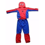 Fantasia Infantil Longa Homem Aranha Spiderman