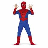 Fantasia Intantil Homem Aranha 10 12 Anos  Preço De Custo