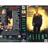 Filme Fita Vhs Alien 3 Com Sigourney Weaver