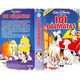 Filme Fita Vhs Disney 101 Dalmatas Dublado
