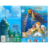 Filme Fita Vhs Disney Atlantis O Reino Perdido Dublado