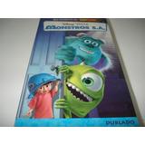 Filme Fita Vhs Disney Monstros S a  Dublado