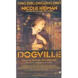 Filme Fita Vhs Duplo Dogville Nicole Kidman 2004