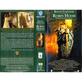 Filme Fita Vhs Robin Hood Com Kevin Costner