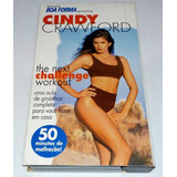Fita Vhs Cindy Crawford Challenge   Revista Boa Forma 1998