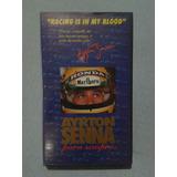 Fita Vhs Original Ayrton Senna Para Sempre   Video Print
