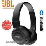 Fone De Ouvido Jbl T450bt  Bluetooth Pure Bass Preto T450 Bt