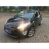 Ford New Fiesta 1 6 Se Hatch Banco Couro Metro Vila Prudente