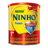Fórmula Infantil Em Pó Nestlé Ninho Fases 1  Em Lata De 400g