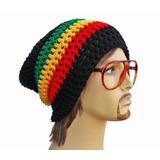 Gorro Touca Reggae Jamaica Croche Beanie Bob Marley Rasta 7bc64c00013
