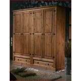 Guarda roupa;madeira Maciça;rústico armario;roupeiro