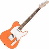 Guitarra Fender Squier Affinity Orange Telecaster Rw Laranja