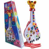 Guitarra Musical Infantil   Celular Galinha Pintad 29 Teclas