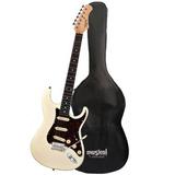 Guitarra Tagima T635 Branca Vintage E tt   Bag