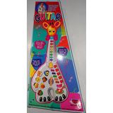 Guitarral Infantil 26 Teclas  Girafa Som Música  Musica
