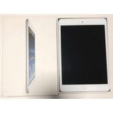 Ipad Mini 3g 64gb Branco Com Capa Teclado Logitech