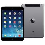 Ipad Mini Apple Mf442br a Wifi Cel 16gb A1454 Gray Cinza