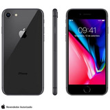 Iphone 8 Cinza Espacial 4 7   4g  64gb  12 Mp   Mq6g2br a