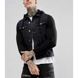 6116373bc5 Jaqueta De Frio Casaco Masculino Jeans Slim Fit Offert