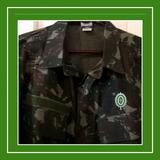 428a30c37b778 Jaqueta Gandola Oficial Do Exército Rip Stop tam G gg