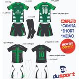 e474613cd3 Jogo De Camisa Personalizado uniforme Esportivo calção abada
