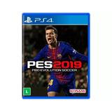 Jogo Pes 2019 Para Playstation 4    mídia Física Original