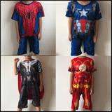 Kit 04 Fantasia Infantil   Homem Aranha