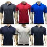 49a33db4fd Kit 06 Camisas Camisetas Revenda Gola Polo Masculina Atacado